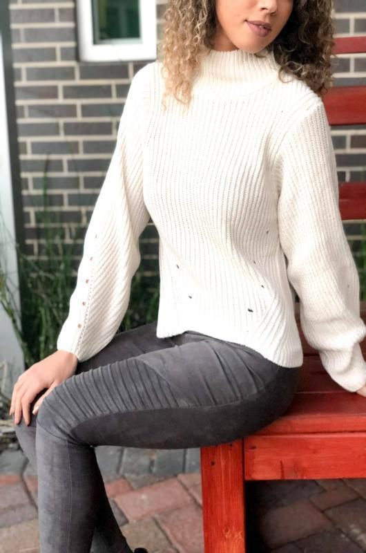 Falling For You Sweater (Oatmeal) - Dapper Dearest