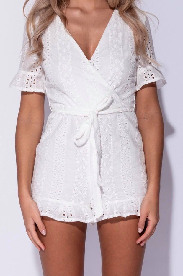 Coconut Kisses Romper