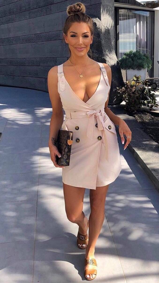 Back Together Wrap Dress