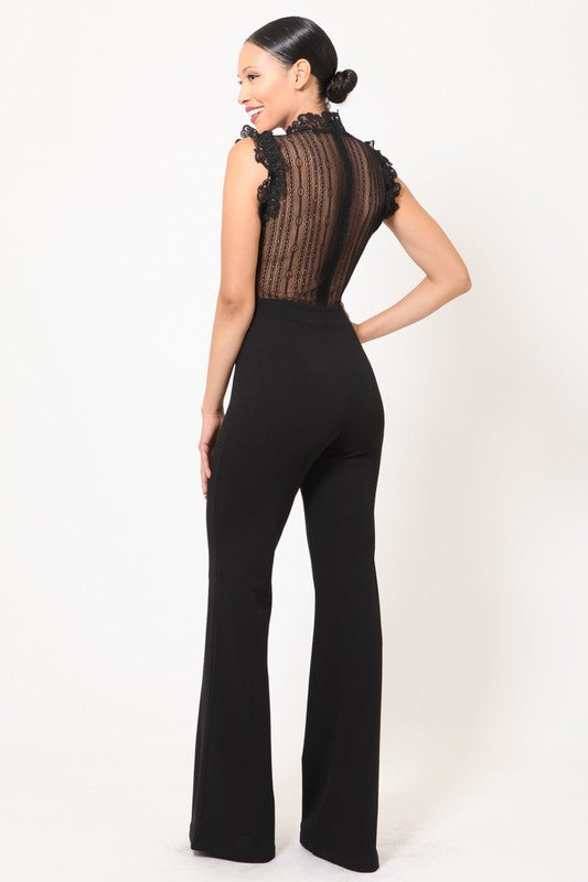 Syble Lace Jumpsuit