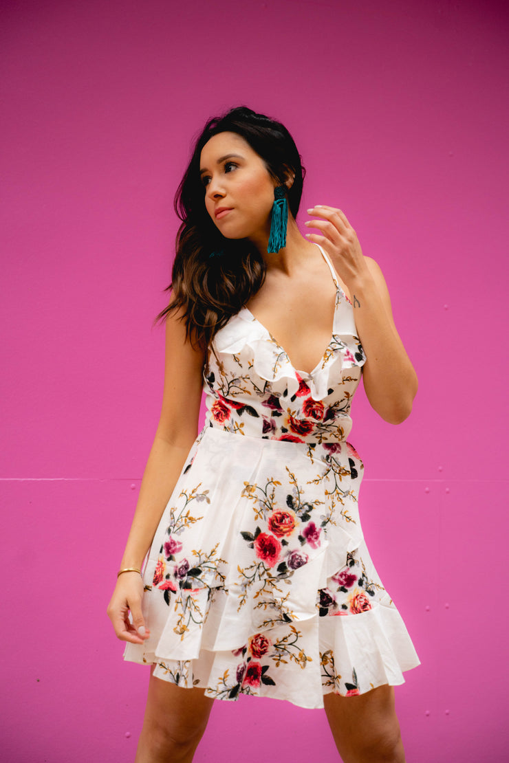 Like A Lady Floral Dress