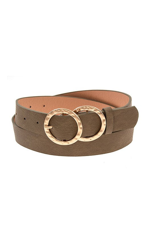 Capella Double Ring Buckle Belt