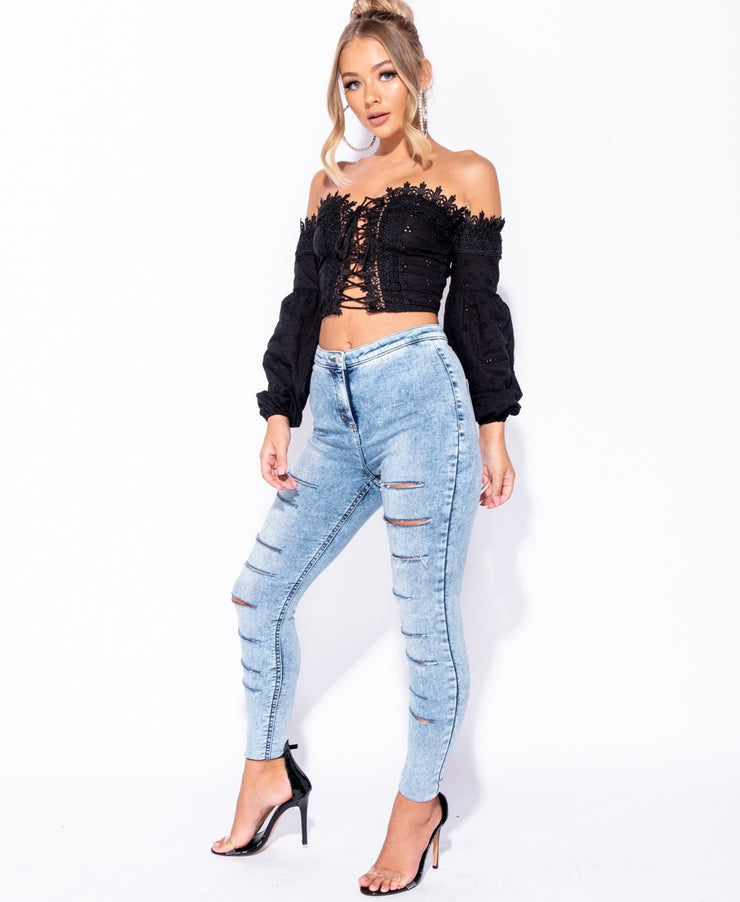 Lawless Lace Top