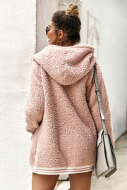 Sporty Spice Blush Coat
