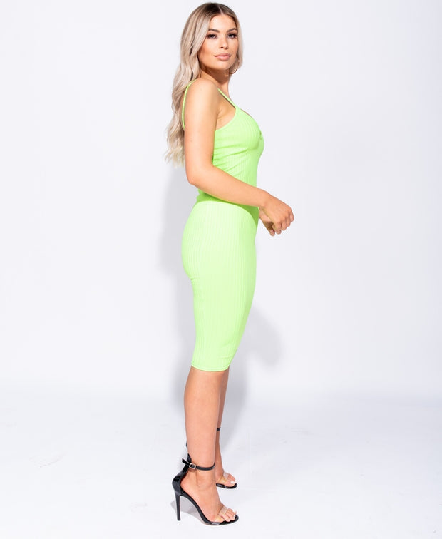 Ok Miami Bodycon Dress ( Green)
