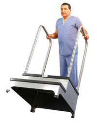 Weight Bearing 2 Step Platform for Digital X-ray Panels