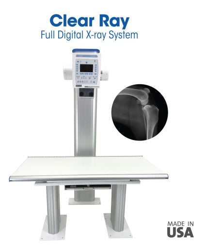 ClearRay Analog or Digital X-ray Vet System for Veterinary X-ray