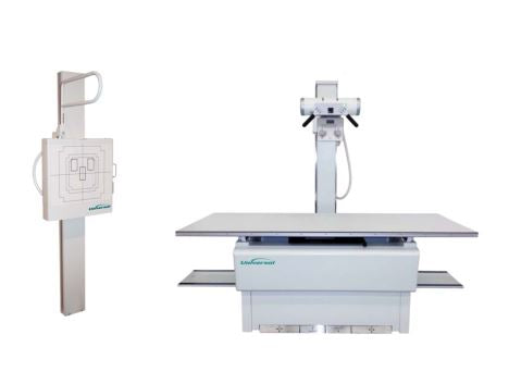 Free standing  floor  mounted  FMT X-ray system