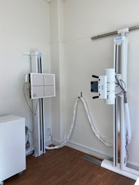 "TXR Chiro Upright CH-1 14""x17"" Upright System with F/W Tube Stand, Wall Stand and High Frequency Generator"