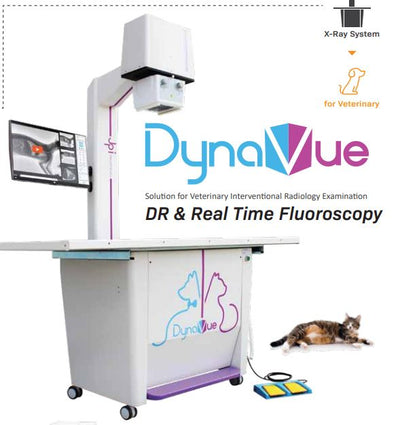 Dynavue Vet Flouroscopy and Radiology System