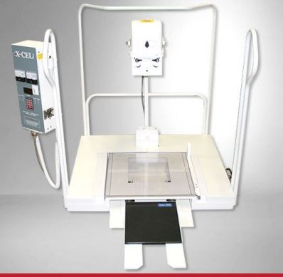 X-Cel Podiatry X-Ray Machine and 10 x 12 DR panel