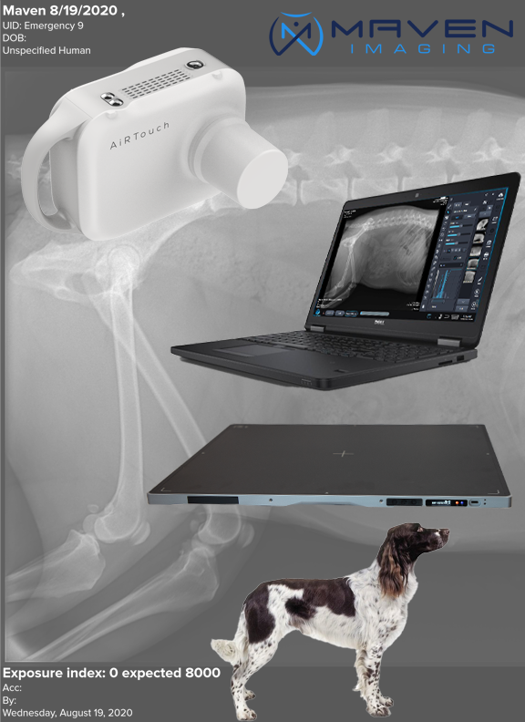 Maven Handheld and Patient Image DR panel package