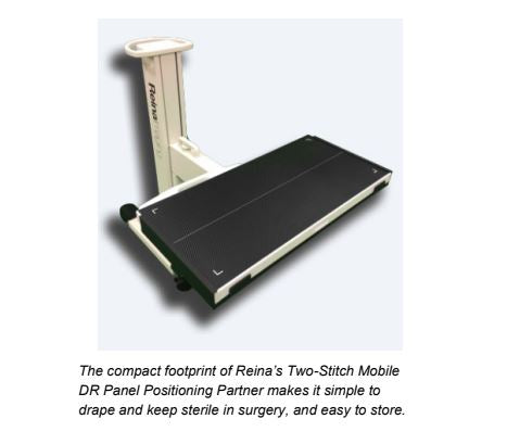 Two Stitch Mobile DR Panel Positioning Partner Digital X-ray systems.