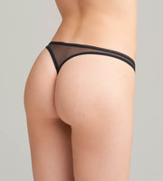 Shame String aus Nylon black