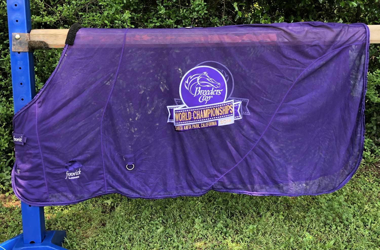 Clearance Embroidery-BodyGuard Flysheet-Breeders' Cup 2014