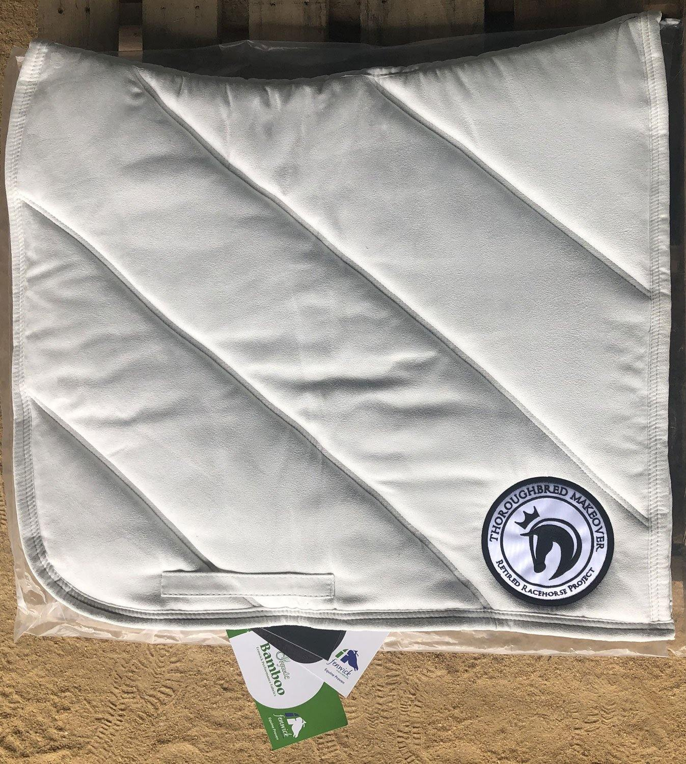 ★ Bamboo Saddle Pad - Retired Racehorse Project Thoroughbred Makeover ★ - Fenwick Equestrian