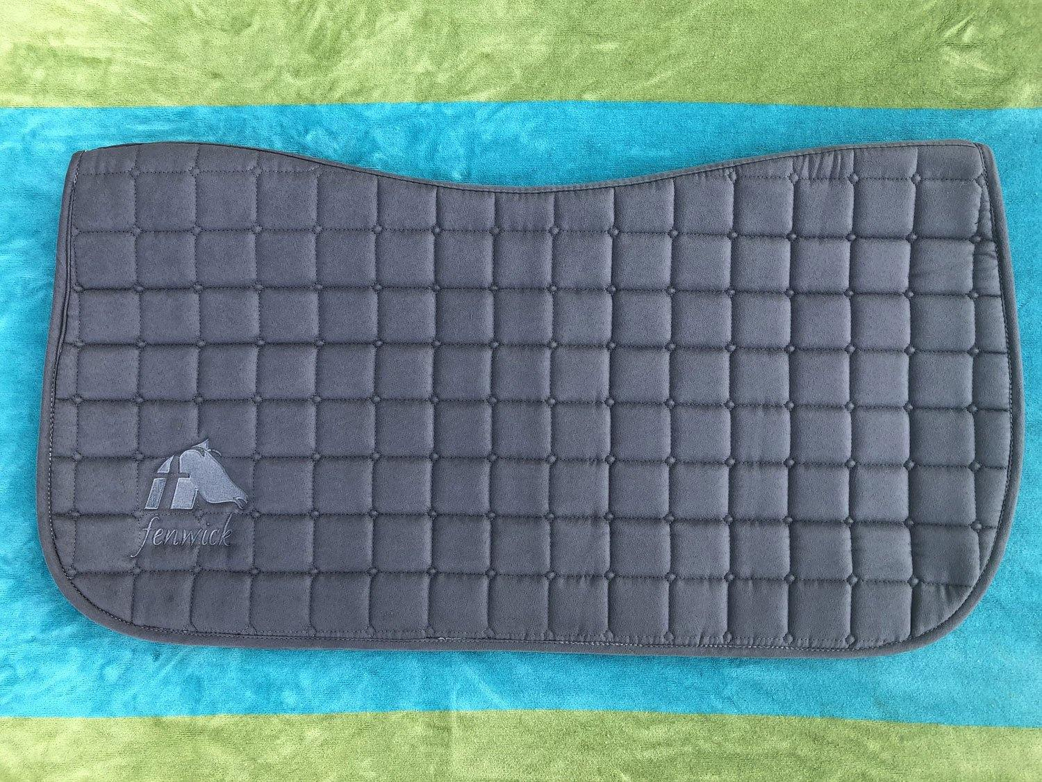 Liquid Titanium® Saddle Pad-Western