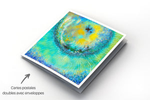 "Artwave Postcard / ""Flower Power"" - GalerieArtwave"
