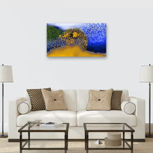 "Load image into Gallery viewer, "" Printemps "" / Horizon II - Anne Turlais Background Fine Art"