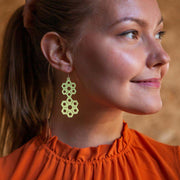Honeycomb Bomb earrings