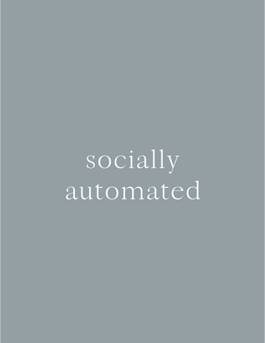 Socially Automated