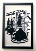 Load image into Gallery viewer, Laphroaig pot stills - Print - 11x17""