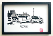 Load image into Gallery viewer, Bowmore Distillery - Print - Various Sizes