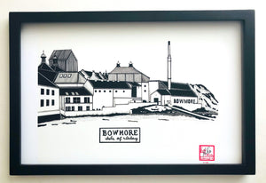 Bowmore Distillery - Print - Various Sizes
