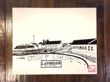 Load image into Gallery viewer, Laphroaig Distillery - Print - Various Sizes