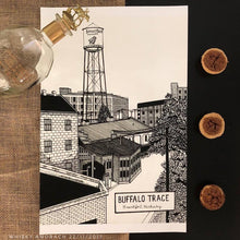 Load image into Gallery viewer, Buffalo Trace Distillery - Print - Various Sizes