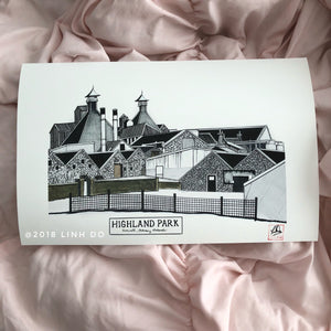 Highland Park Distillery - Print - Various Sizes