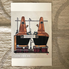 Load image into Gallery viewer, Springbank Distillery Pot Stills - Print - 11x17""
