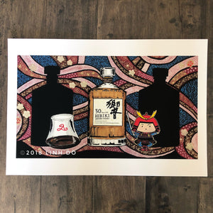Bushido's Waves - Unsigned - Print - 13x19''