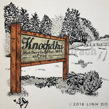 Load image into Gallery viewer, Knockdhu Distillery - Print - 11x17""