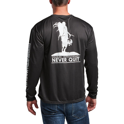 Never Quit Edition Black Long Sleeve