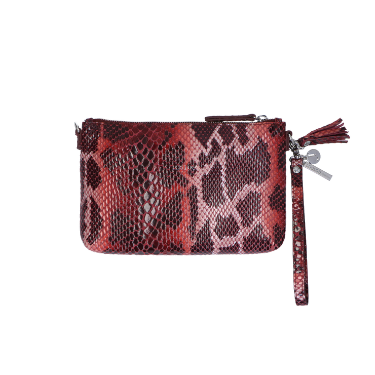 Crossbody clutch | Serpentes  01POUCH Red