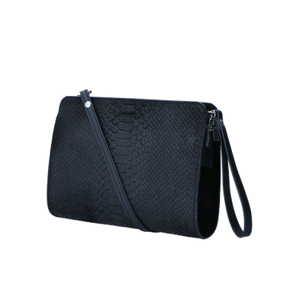 03Crossbody Sugar Snake Silver | Black