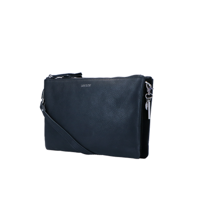Crossbody Clutch Robuste Silver | Black