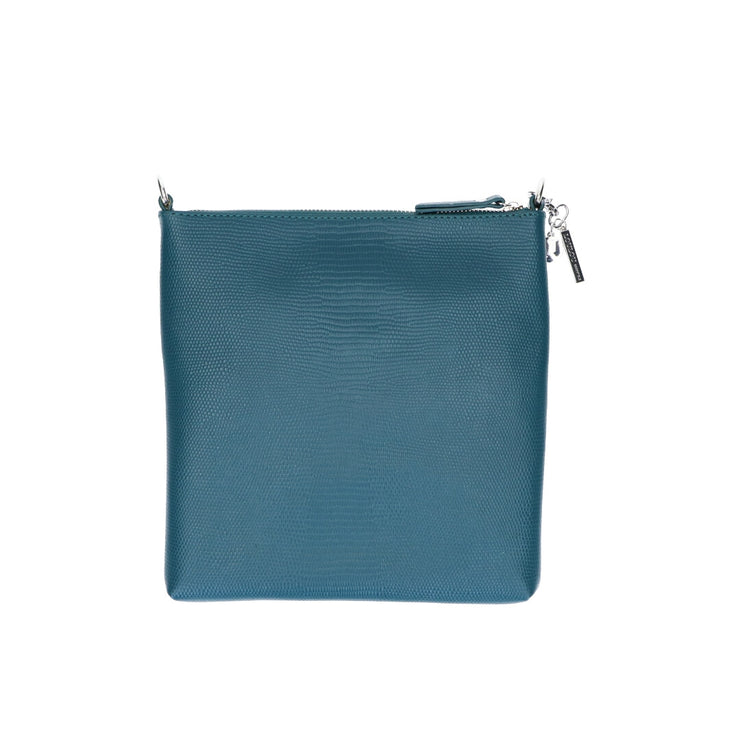 Crossbody | Lovely Lizard 07POUCH Petrol Blue