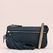 Crossbody 11BAG Vintage Croco | Dark Blue