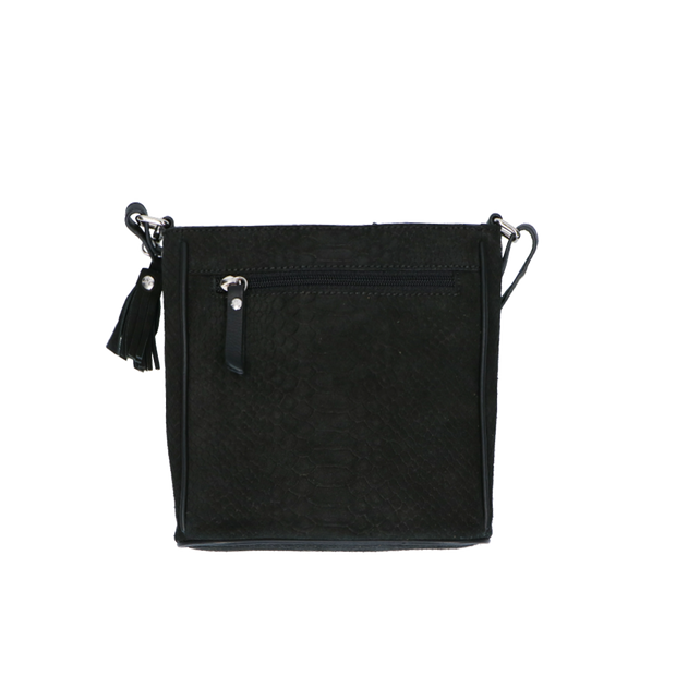 Crossbody | Sugar Snake 14POUCH Black