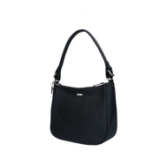 Shoulder bag | Beau Veau Silver 46BAG Black