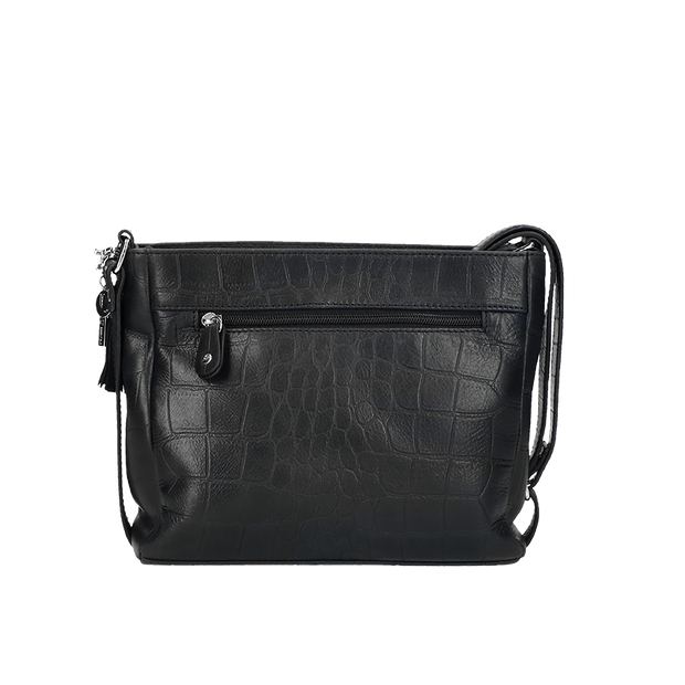 Crossbody | Vintage Croco 67BAG Black