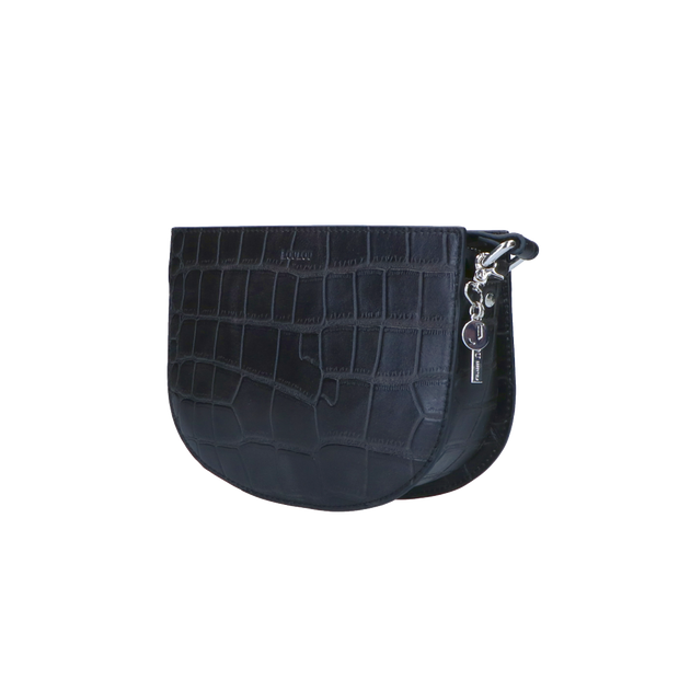 Crossbody | Vintage Croco 68BAG Black