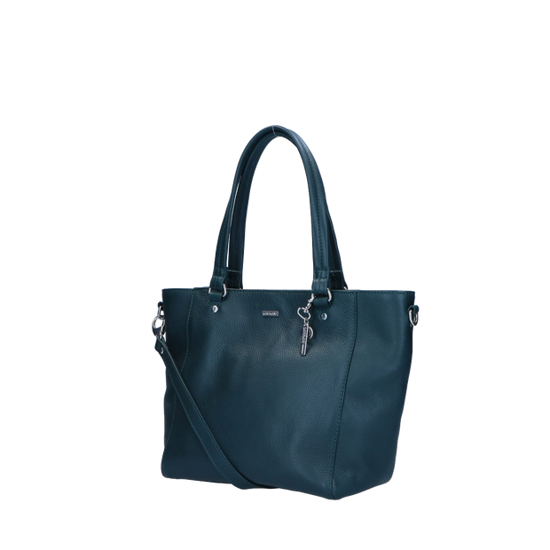 Schoudertas I Beau Veau 86Bag PineGreen Silver