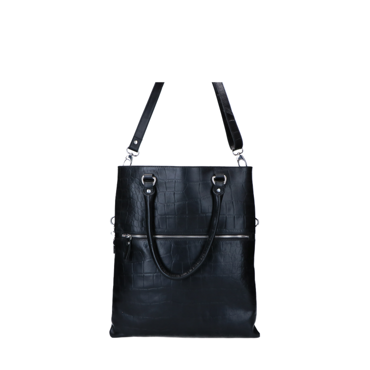 Shopper | Vintage Croco 88BAG Black