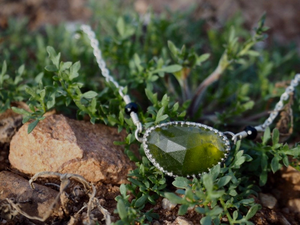 Vesuvianite / Idocrase Necklace