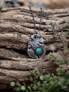 Primal Earth Lite Tyrone Turquoise Necklace
