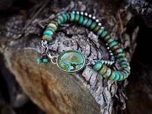 Turquoise Mountain & Hubei Turquoise Sterling Bracelet