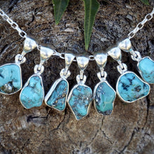 Turquoise Nugget with Pyrite Necklace